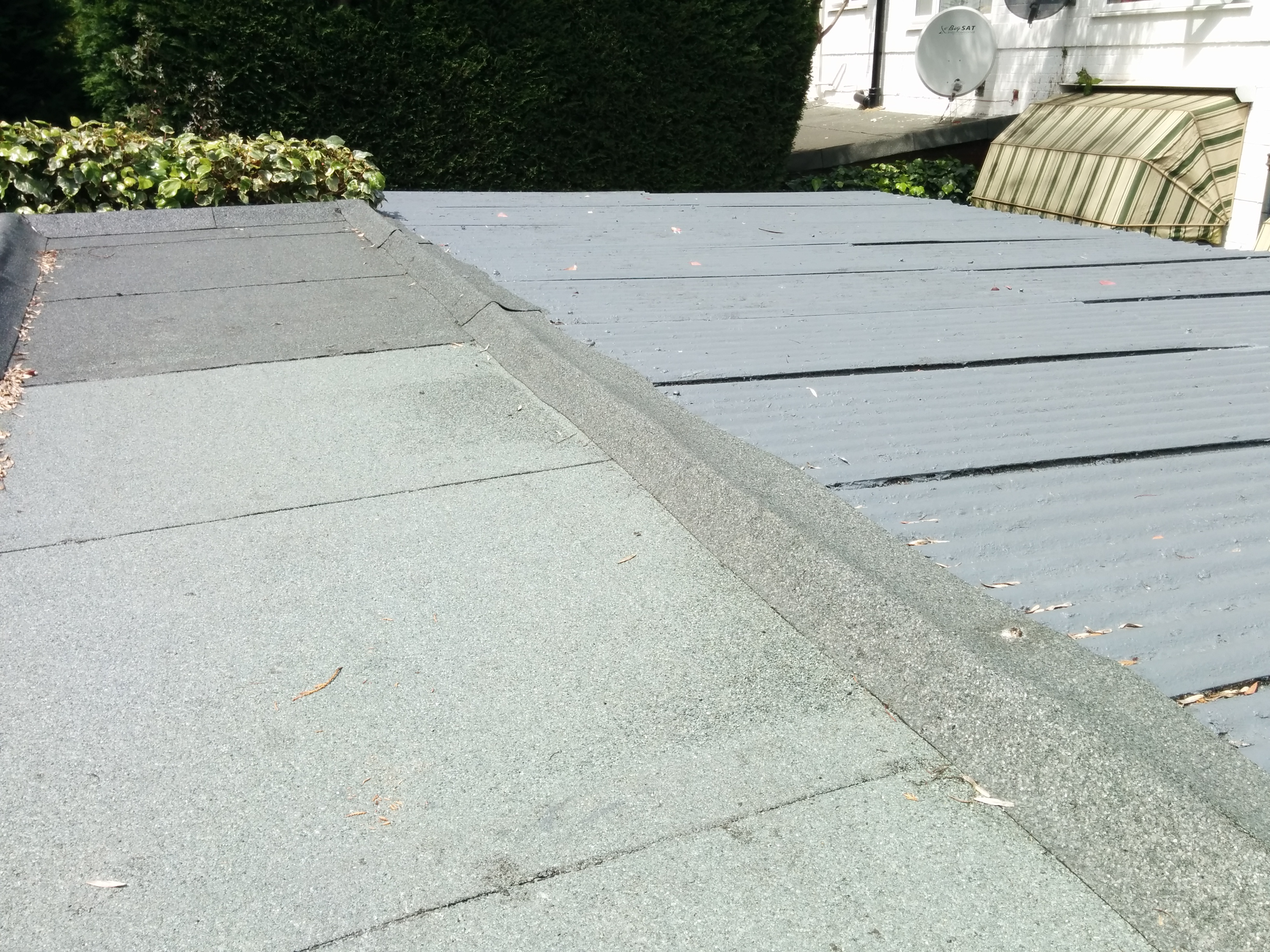 Asbestos Garage Roof Recent Projects Asbestos Garage Roof